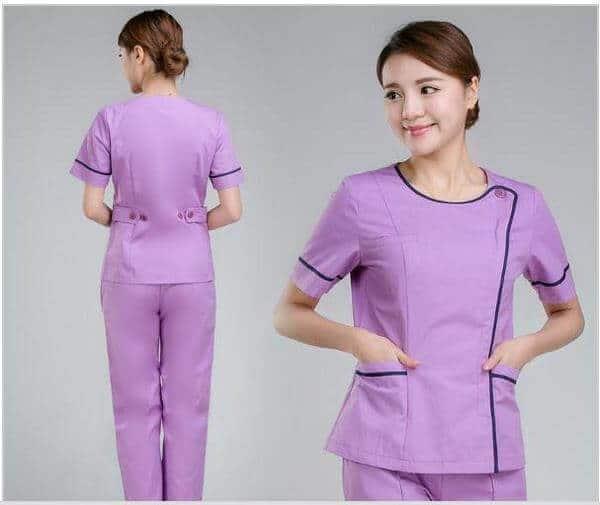 3 mẫu đồng phục spa đẹp tại Hà Nội 1