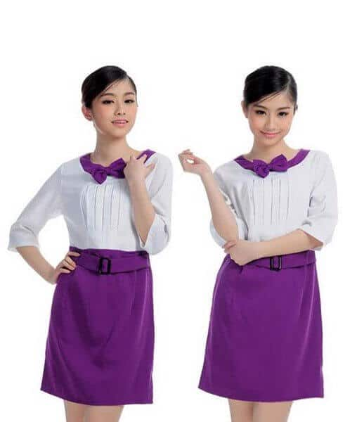 3 mẫu đồng phục spa đẹp tại Hà Nội 2