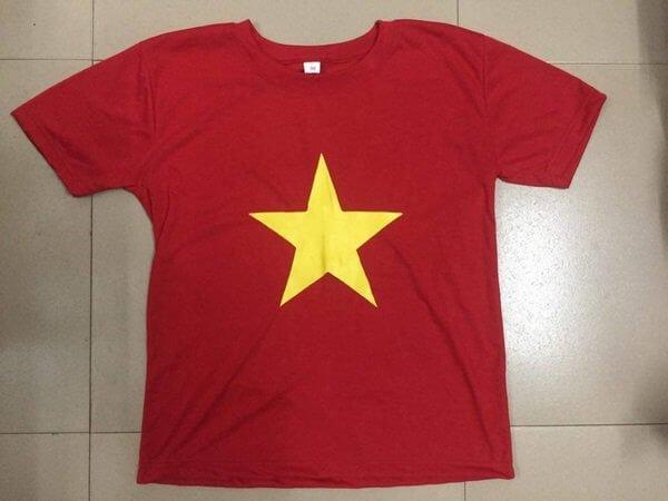 Áo cờ đỏ sao vàng bao đẹp bao chất cho dịp lễ 2/9 3