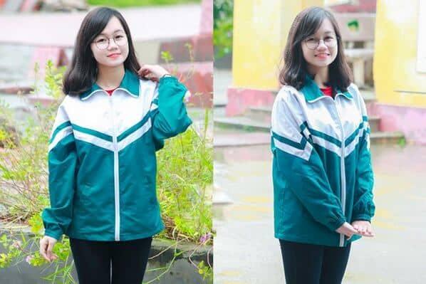 áo khoác đồng phục 3