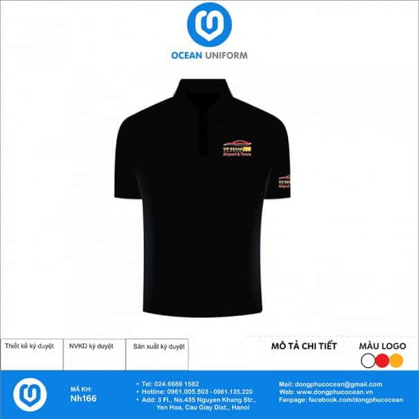 Áo thun đồng phục công ty Vip Sedan