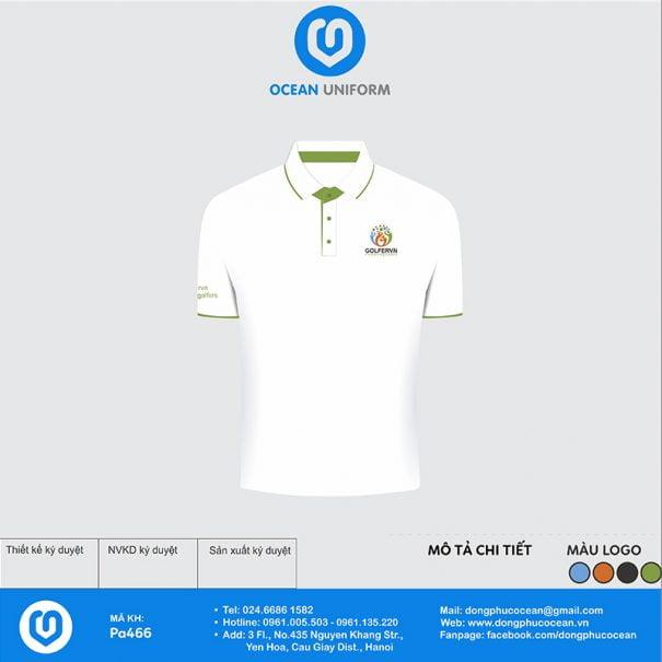 Áo đồng phục nhân viên Golfervn