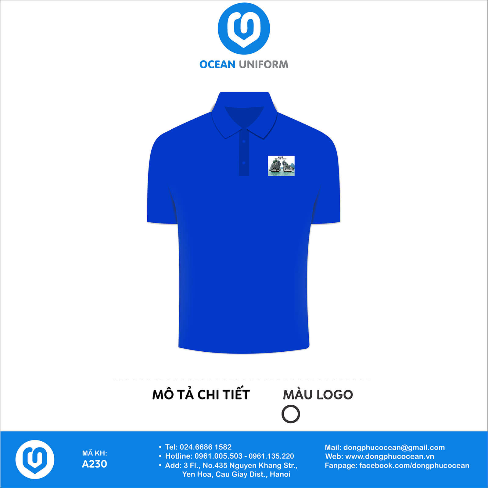 Đồng phục câu lạc bộ Mô Tô Quảng Ninh