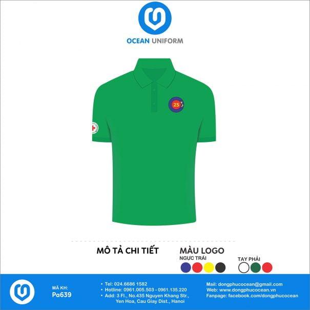 Áo đồng phục câu lạc bộ 25 Lạc Hồng