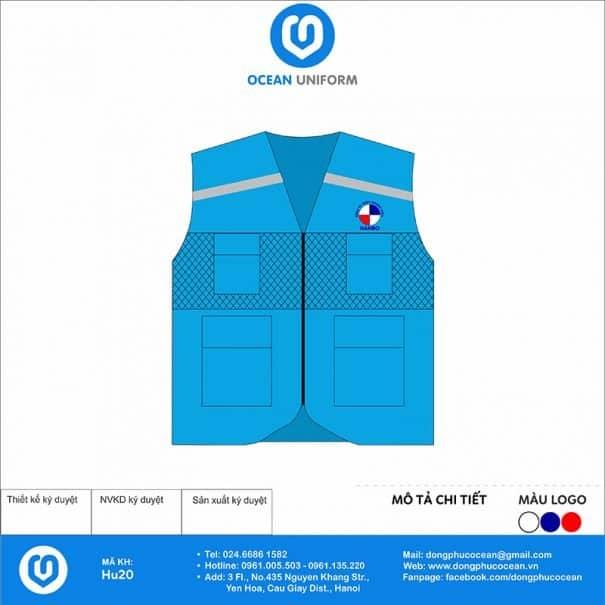 Đồng phục áo khoác Gile HU20