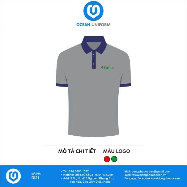 Đồng phục áo phông nhân viên DL21