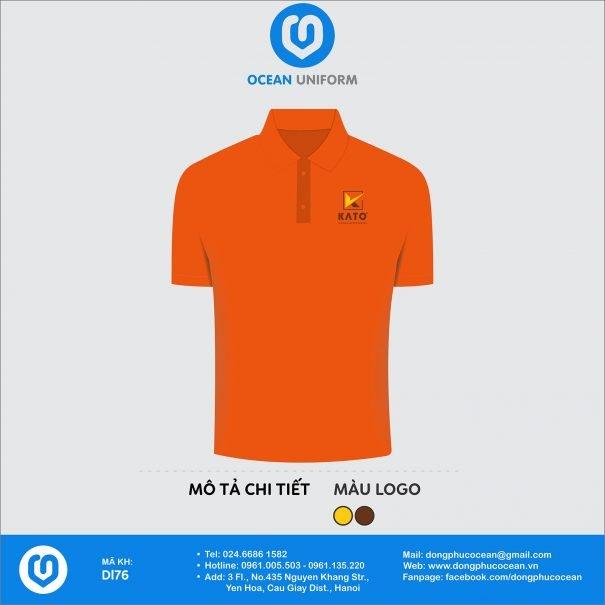 Áo đồng phục nhân viên Công ty CP kính Kato Việt Nam
