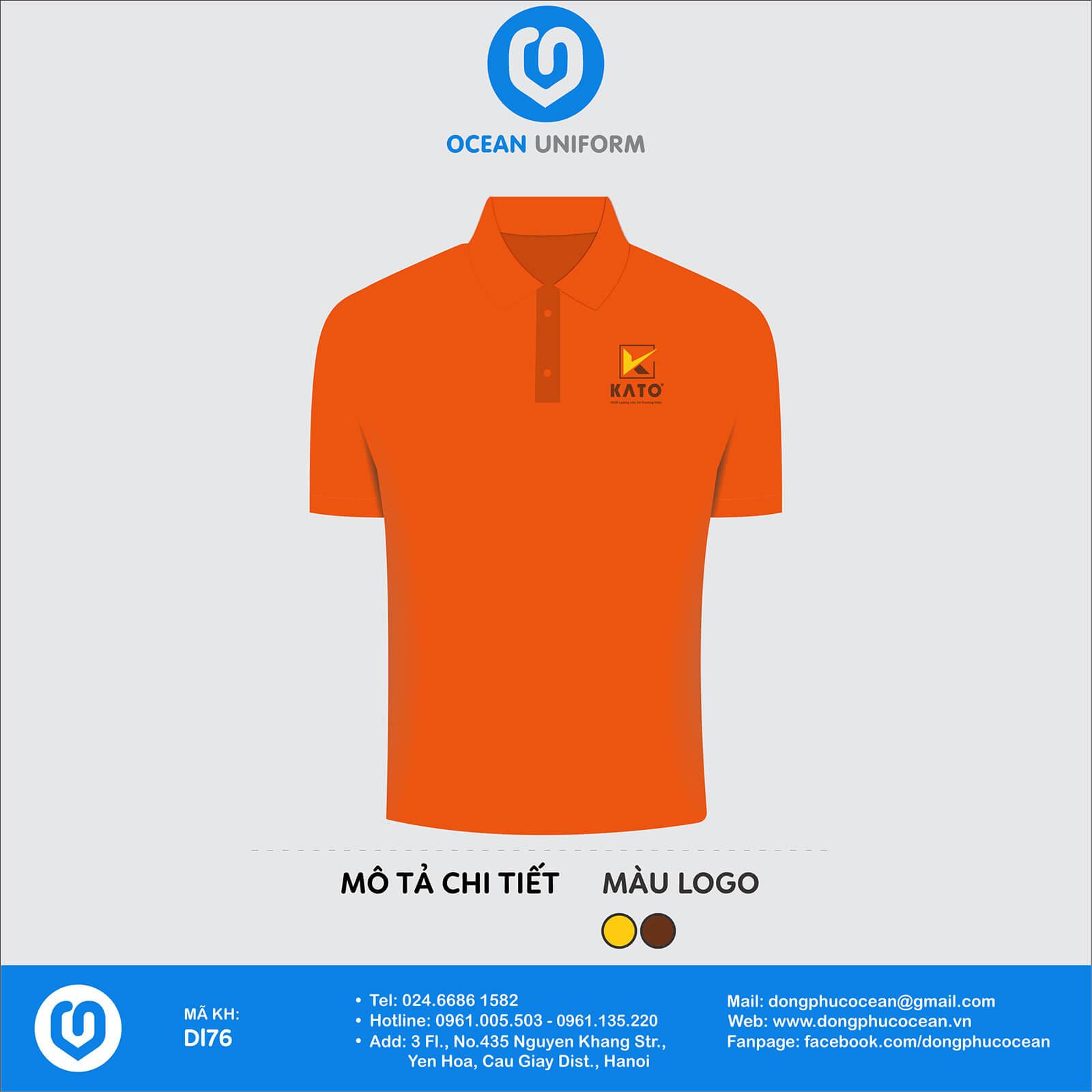Đồng phục nhân viên công ty CP kính Kato Việt Nam