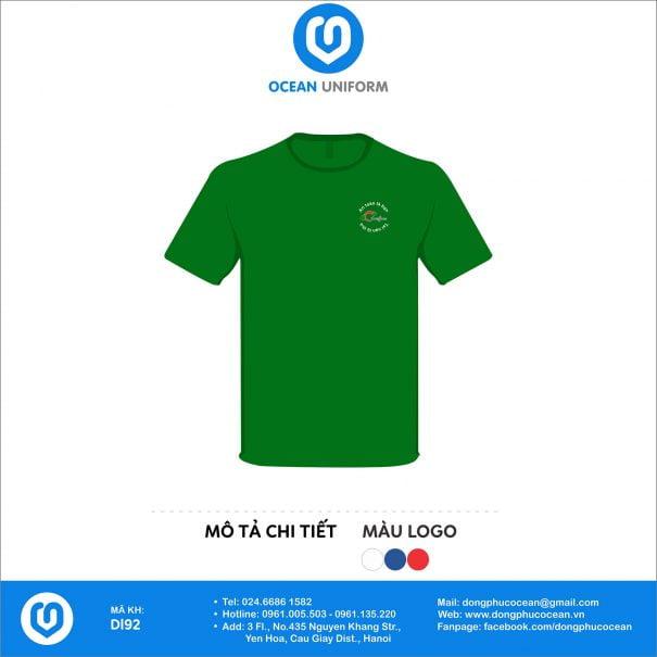 Đồng phục áo phông nhân viên DL92