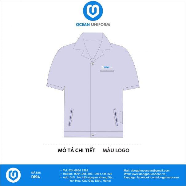 Đồng phục công nhân Cty Dream Corporation VN