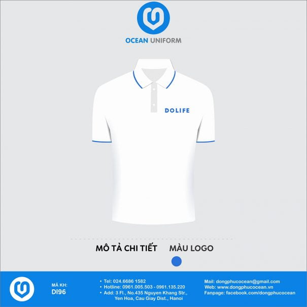 Đồng phục áo phông nhân viên DL96