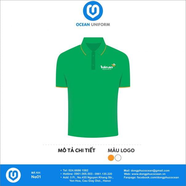 Đồng phục áo phông nhân viên NA01