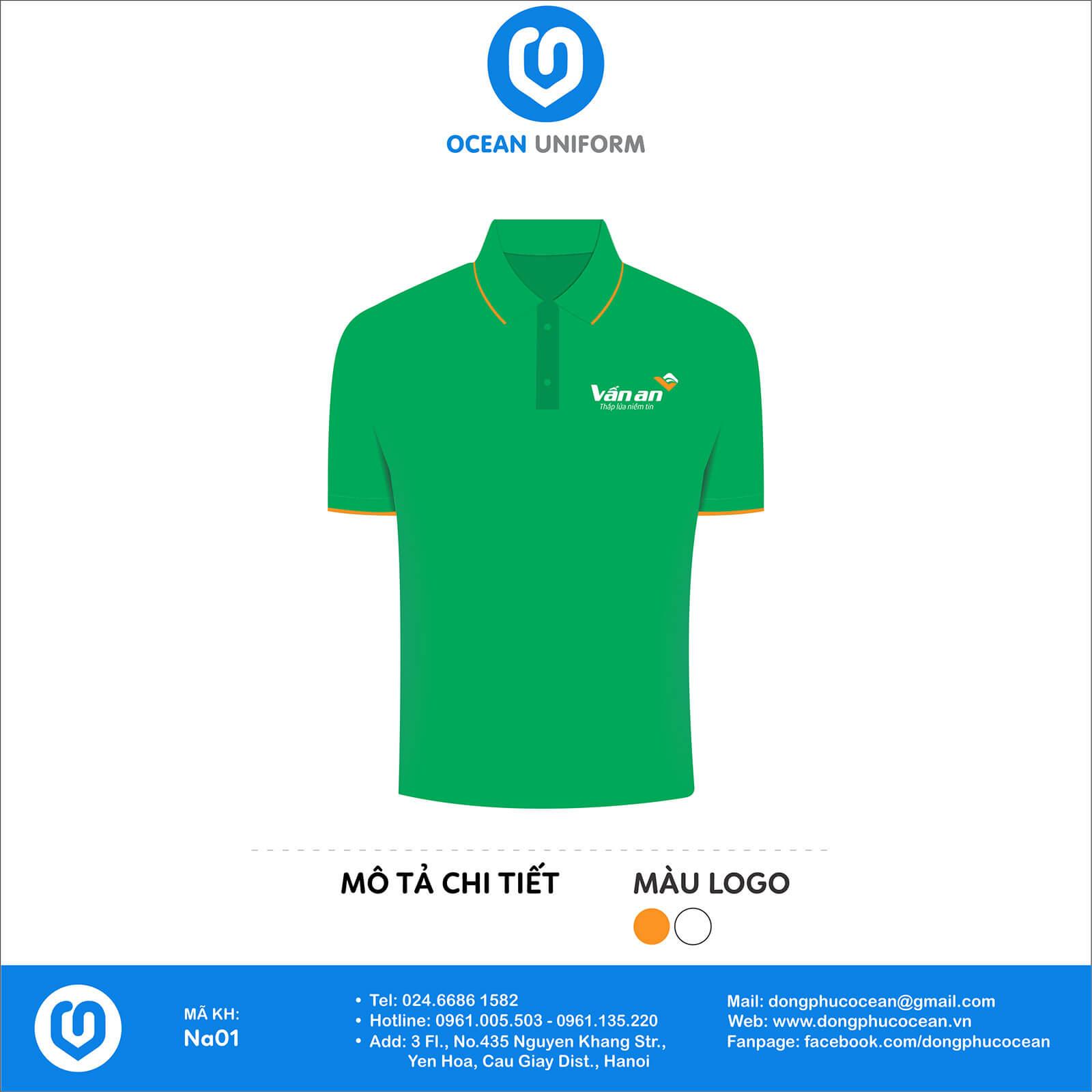 Áo thun đồng phục công ty - Cửa hàng Vấn An