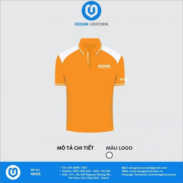 Đồng phục áo phông nhân viên NH05