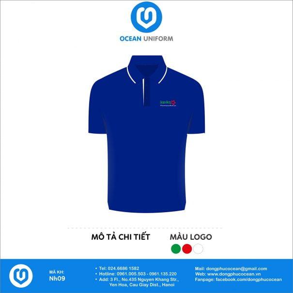 Đồng phục áo phông nhân viên NH09