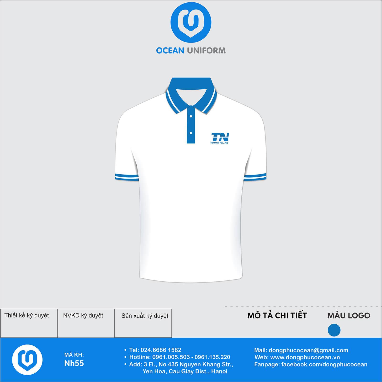 Áo đồng phục công ty Trí Nam