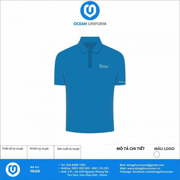 Đồng phục áo phông nhân viên NH69