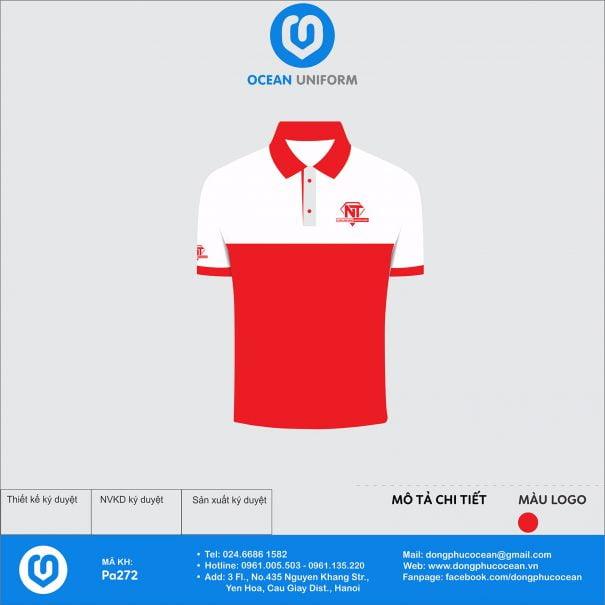 Đồng phục áo phông nhân viên PA272