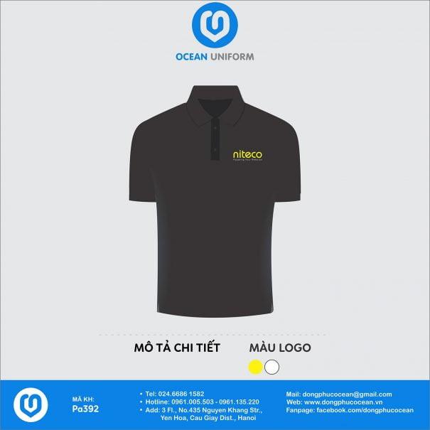 Áo đồng phục nhân viên Công ty NITECO Việt Nam