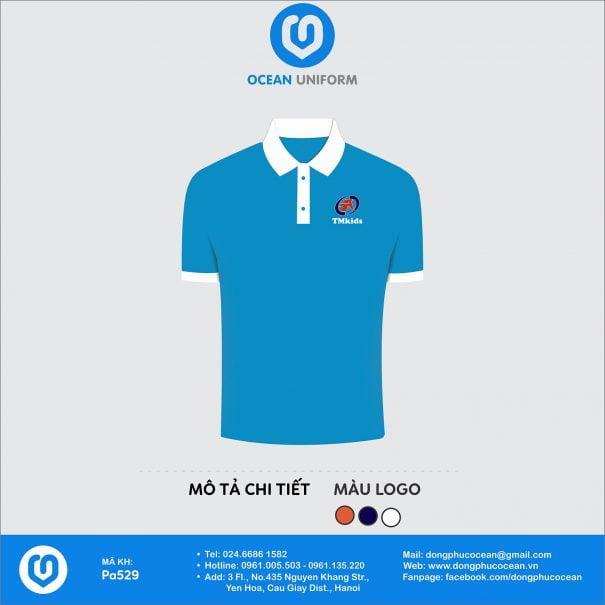 Đồng phục áo phông nhân viên PA529