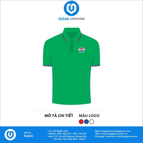 Đồng phục áo phông nhân viên PA545