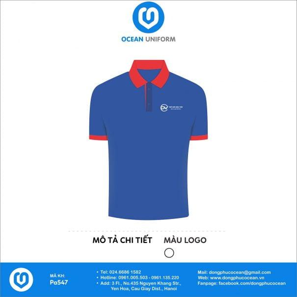Đồng phục áo phông nhân viên PA547