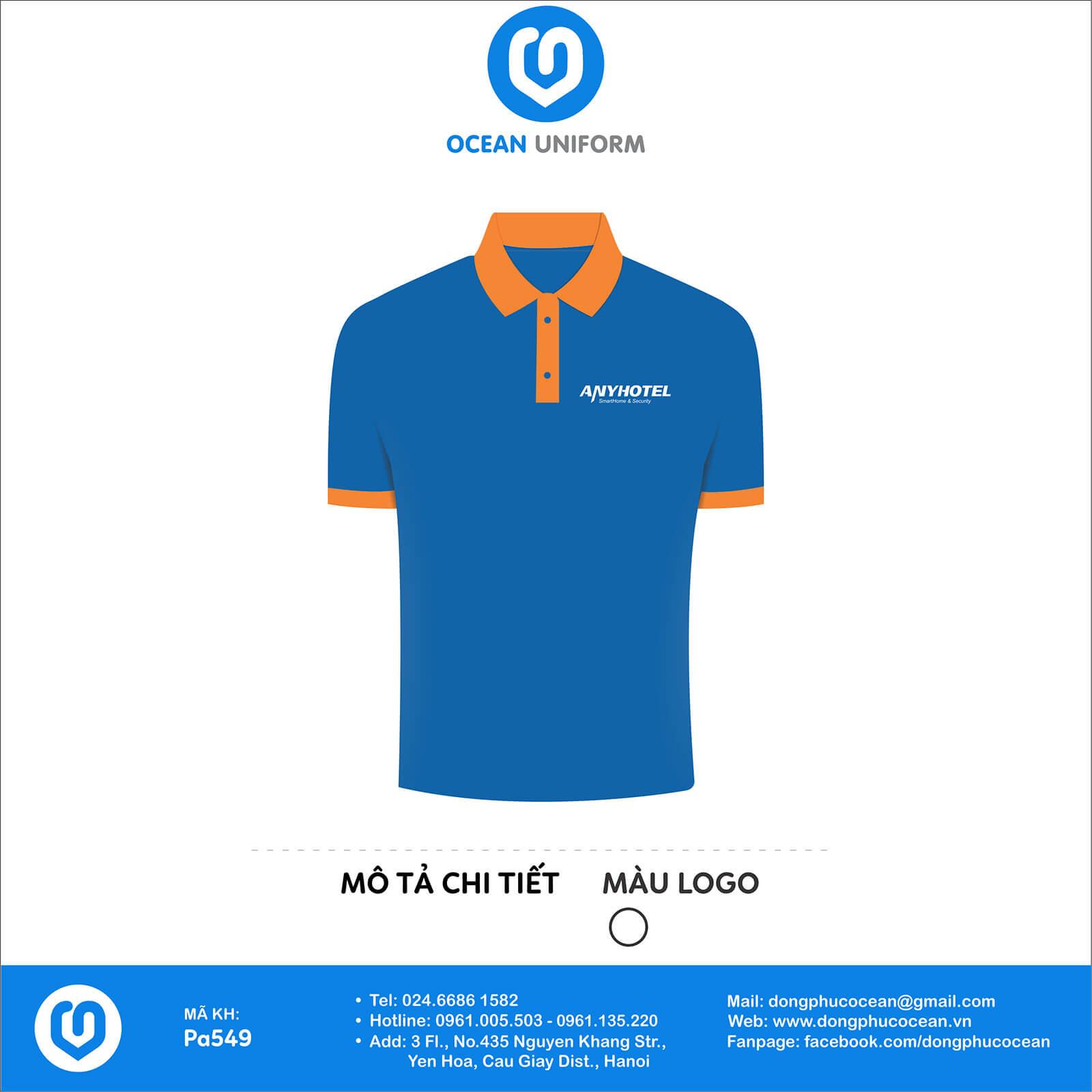 Đồng phục áo phông nhân viên PA549