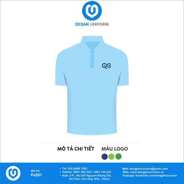 Áo đồng phục văn phòng Công ty CP QS Việt Nam