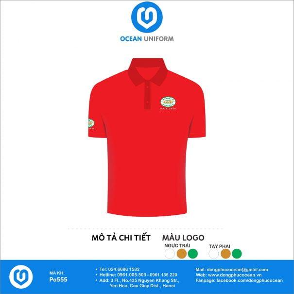 Đồng phục áo phông nhân viên PA555