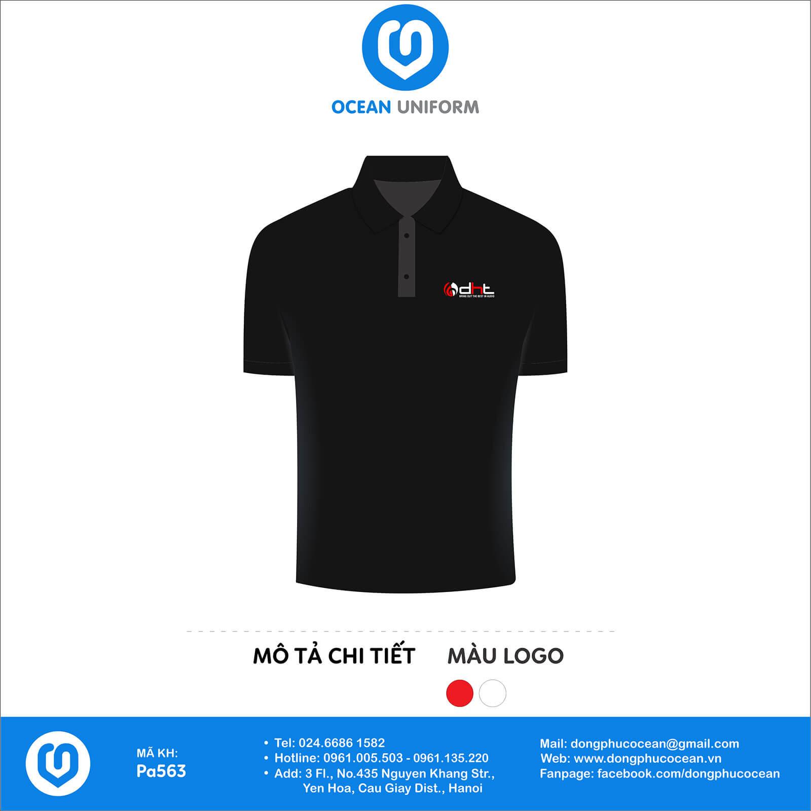 Áo đồng phục văn phòng công ty DHT Việt Nam