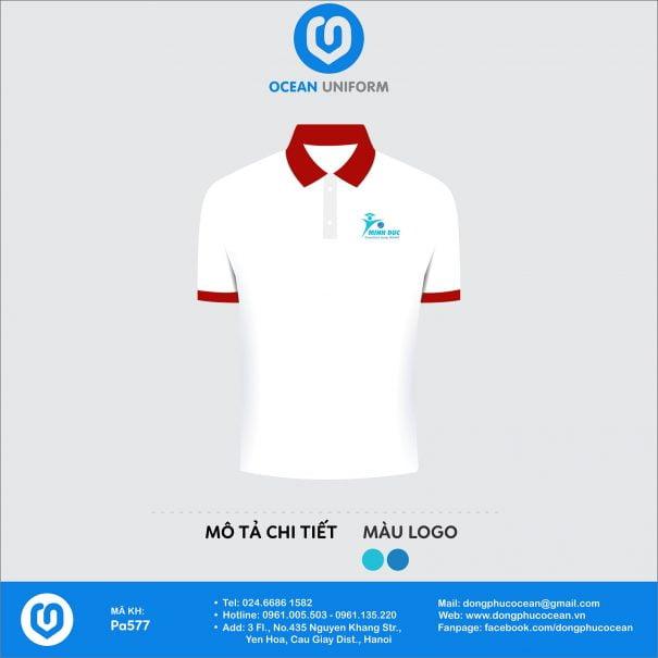 Đồng phục áo phông nhân viên PA577