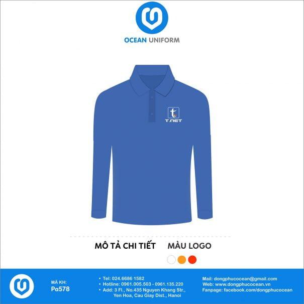 Đồng phục áo phông nhân viên PA578