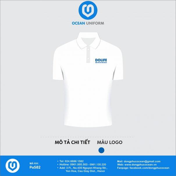 Đồng phục áo phông nhân viên PA582