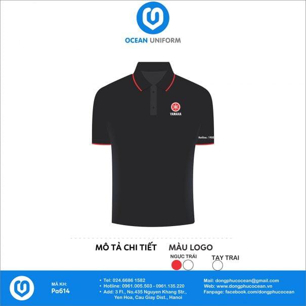 Đồng phục áo phông nhân viên PA614