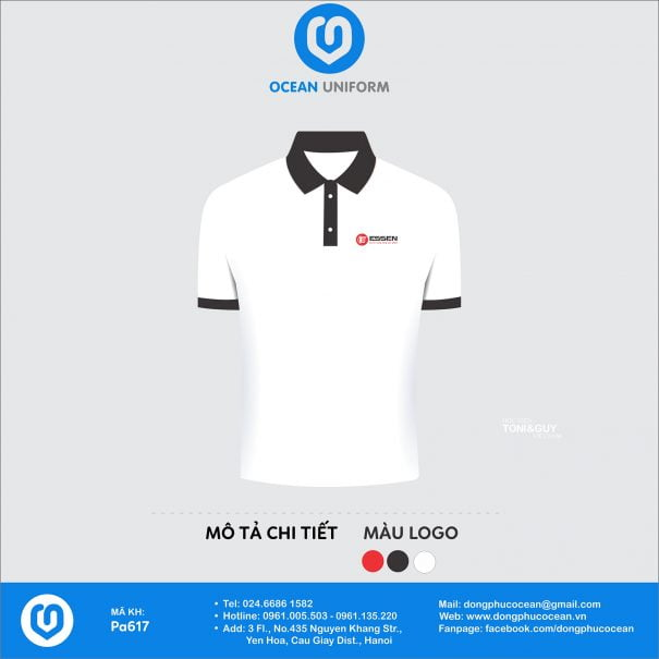 Đồng phục áo phông nhân viên PA617