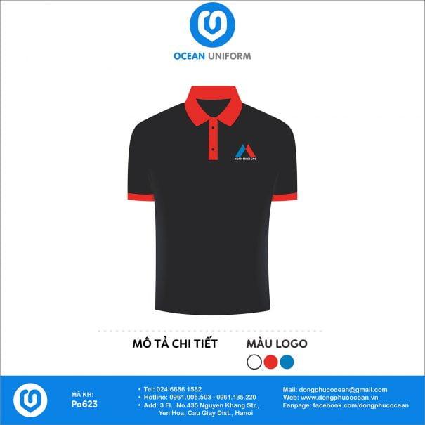Đồng phục áo phông nhân viên PA623