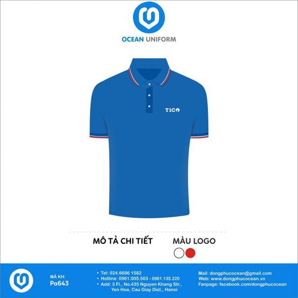 Đồng phục áo phông nhân viên PA643