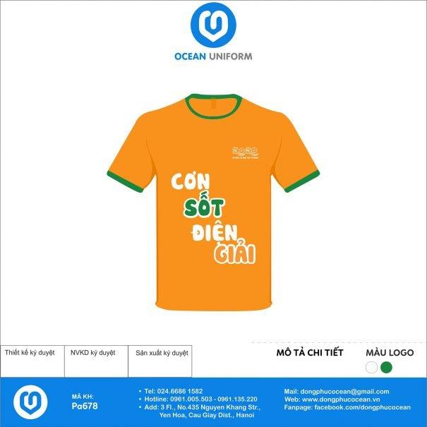 Đồng phục áo phông nhân viên PA678