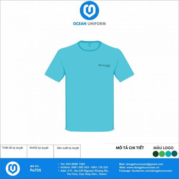 Đồng phục áo phông nhân viên PA705