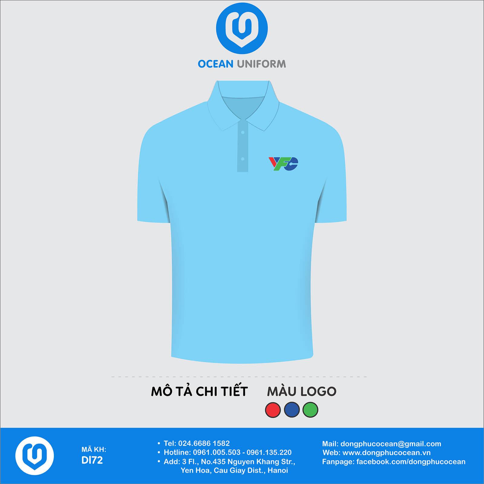 Đồng phục áo phông quảng cáo, sự kiện DL72