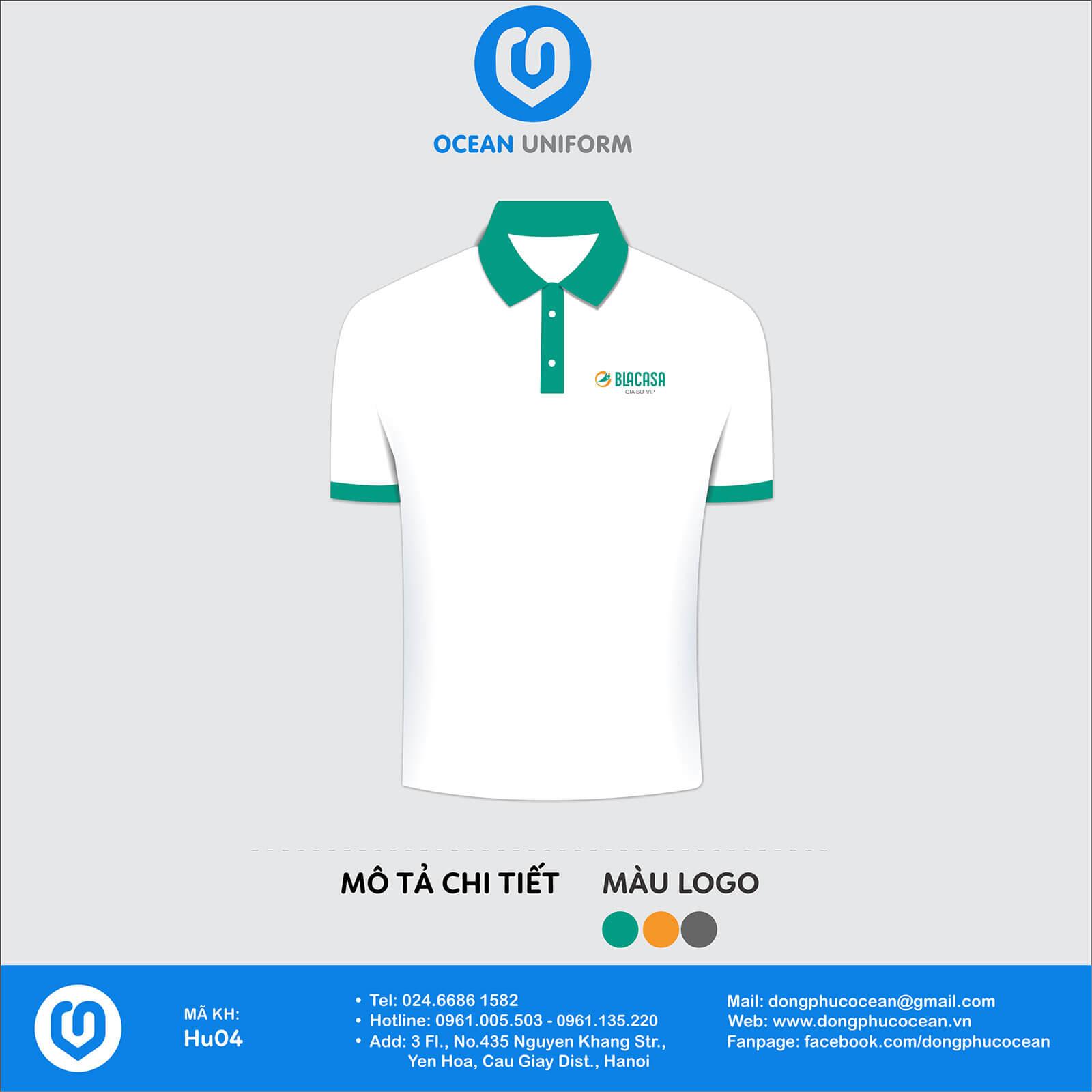 Đồng phục áo phông quảng cáo, sự kiện HU04