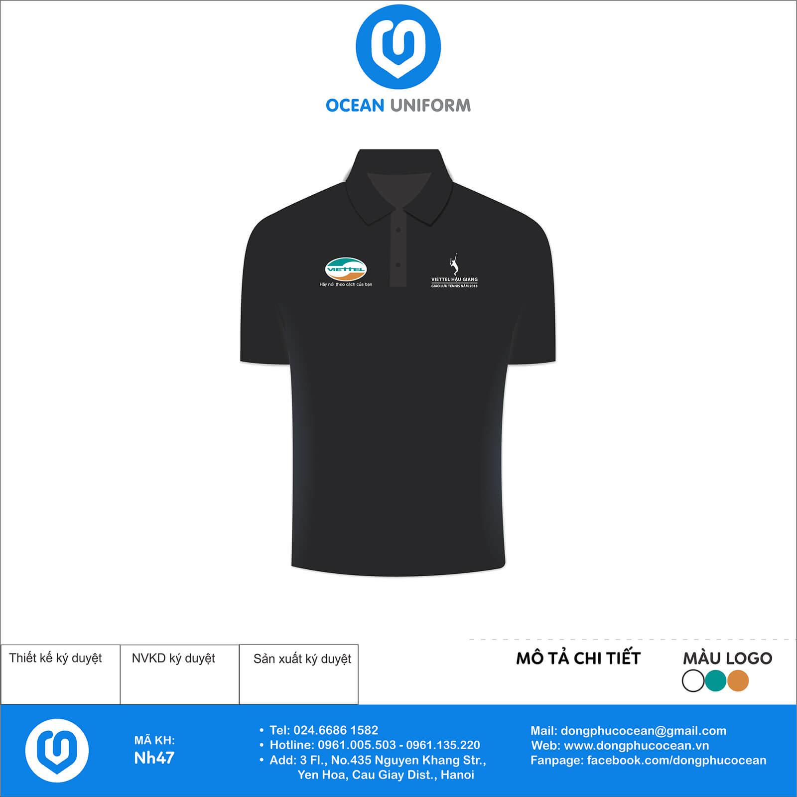 Đồng phục áo phông quảng cáo, sự kiện NH47