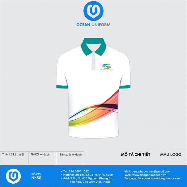 Đồng phục áo phông quảng cáo, sự kiện NH50