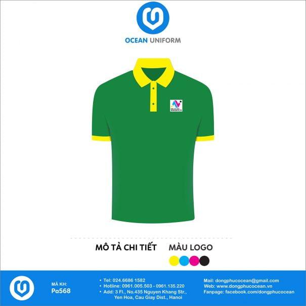 Đồng phục áo phông quảng cáo, sự kiện PA568