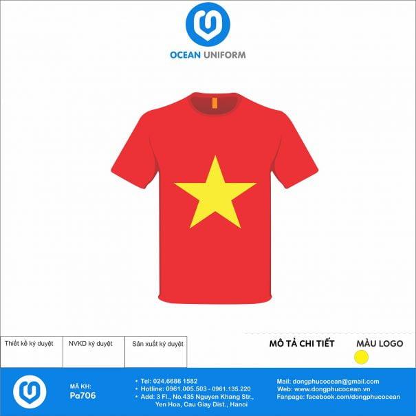 Đồng phục áo phông quảng cáo, sự kiện PA706