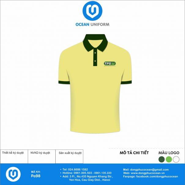 Đồng phục áo phông quảng cáo, sự kiện PA98