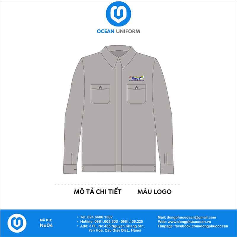 Đồng phục công nhân Sơn NaNo