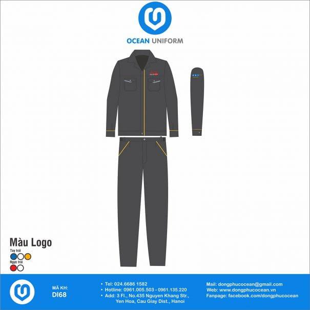 Đồng phục bảo hộ lao động DL68