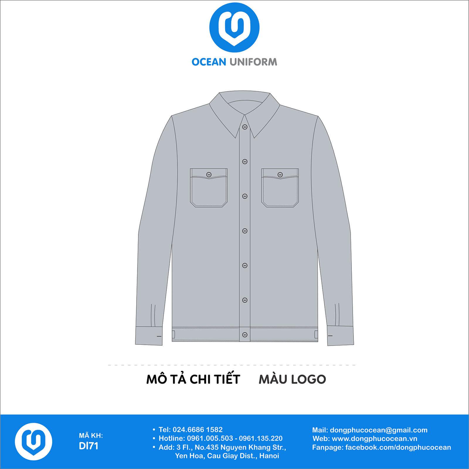 Đồng phục công nhân Công ty TNHH Việt Xanh
