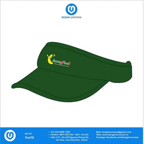 Đồng phục mũ PA478